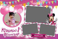 Minnie Photobooth Photo Booth Template 4x6 template   Etsy Photobooth Layout, Photobooth Template, Mickey Photo Booth, Photo Booth Frame, Birthday Photo Booths, Birthday Photos, Mouse Photos, Instagram Frame, Custom Photo