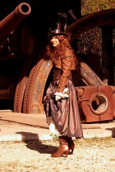Steampunk & Gaslight Convention Luxemburg 2012 by AyraLeona, via Flickr