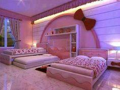 Hermoso espacio rosa