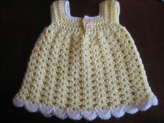 easy baby sundress ravelry free pattern
