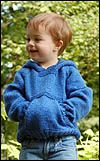Baby Knitting Patterns Pullover Baby sweaters knit blue and sturdy Kids Knitting Patterns, Knitting For Kids, Baby Patterns, Knitting Projects, Free Knitting, Baby Knitting Patterns Free Cardigan, Sewing Patterns, Knitting Needles, Sewing Projects