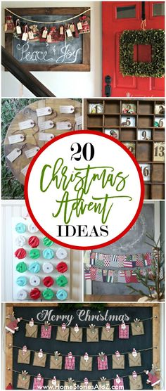 20 Christmas Advent Calendar Ideas - Home Stories A to Z