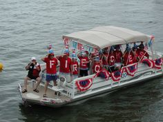 Cape Royale Boating Association Annual Fourth of July Boat Parade