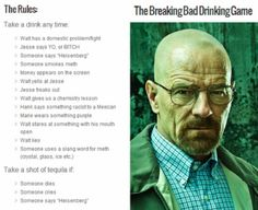 Breaking Bad drinking game