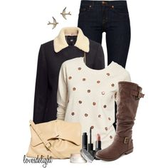 """""""Neutral Winter"""" by lovesdelight on Polyvore"""