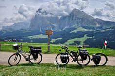 W Dolomitach na Alpe di Siusi