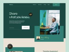 Thinkeasy // Home page by blacklead studio on Dribbble