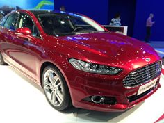 Ford Mondeo 2013 - istanbul AutoShow 2012 in TUYAP - Photo by Mehmet Subasi