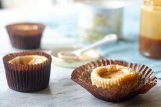 Salted Caramel Cheesecake Cupcakes