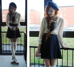 Such, such were the joys (by Cosette Munch) http://lookbook.nu/look/2687373-Such-such-were-the-joys
