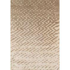 Pasargad Soho Silk Modern Beige Area Rug Rug Size: