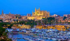 """My favorite time is now as Mallorca is starting to awake. Mallorca the """"Mediter Best Places To Live, Places To Travel, Places To Visit, Travel Destinations, Restaurant Mallorca, Spanish Islands, Barcelona, Paradise On Earth, Balearic Islands"""