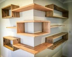 Building some DIY corner shelves might be a great idea for your next weekend project. Corner shelves are a smart solution for your small space. If you want to have shelves but you don't want to be too much on .