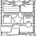 A great first day of school activity. Students fill out the worksheet so you can get to know about them. They can present it to the class, and then hang it up for all to see. There are two versions in the file. Classroom Displays, Classroom Themes, Classroom Activities, Classroom Organization, Classroom Management, First Day Of School Activities, 1st Day Of School, Beginning Of The School Year, Superhero School Theme