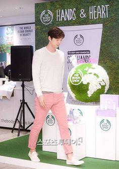 Gong Yoo & Kim Woo Bin & Lee Kwang Soo — Gong Yoo for The body Shop