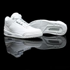 "low priced 621e7 2498d Air Jordan 3 ""Pure Money"" (at Flight Club) Air Jordan 3,"