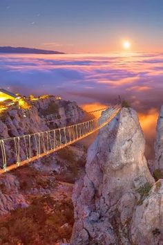 Mount Ai-Petry at Night, Crimea, Ukraine