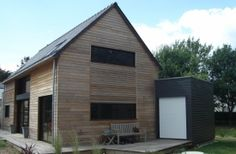 Maison ossature bois 56 morbihan sarzeau Bretagne