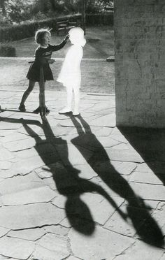 museumuesum: Hans-Peter Feldmann Untitled (Two girls with a shadow). Clipped image pasted on cardboard and framed. 60 x 80 cm. Hans-Peter Feldmann Untitled (Two girls with a shadow). Clipped image pasted on cardboard and framed. 60 x 80 cm. Collage Kunst, Ombres Portées, Hans Peter, Foto Fashion, Arte Obscura, Ansel Adams, Two Girls, Chiaroscuro, Light And Shadow