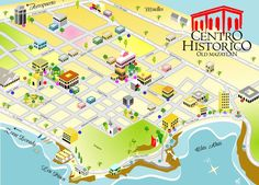 25 Best Maps of Mazatlan Sinaloa Mexico images