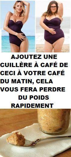 AJOUTEZ UNE CUILLÈRE À CAFÉ DE CECI À VOTRE CAFÉ DU MATIN, CELA VOUS FERA PERDRE DU POIDS RAPIDEMENT
