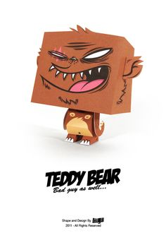 Neato Papertoys. free to download, print and DIY!