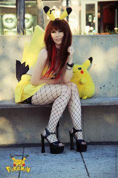 SeXy Pikachu cosplay, Elisabeth Euphoria