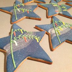 Milky Way, tanabata Japanese festival cookies | Cookie Connection