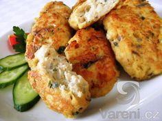 Karbanátky z tresky - Fish Recipes, Cauliflower, Clean Eating, Food And Drink, Chicken, Vegetables, Fish Food, Recipies, Cooking