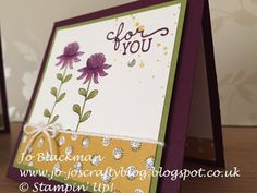 Flowering Fields Sale-a-Bration 2016 Stampin' Up!