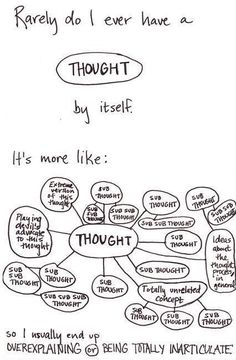 So INTJ (and INTP. Though replace half the sub-thoughts with new, unrelated thoughts)