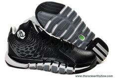New Adidas Derrick Rose 773 II Q33232 Black White