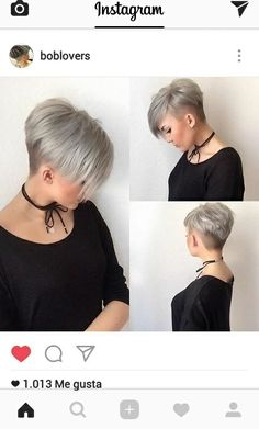 10 Latest Short Haircut for Fine Hair & Stylish Short Hair Color Trends - Cool Global Hair Styles 2019 Latest Short Haircuts, Haircuts For Fine Hair, Short Pixie Haircuts, Haircut Short, Cut Hairstyles, Haircut Styles, Blonde Hairstyles, Latest Hairstyles, Hairstyle Ideas
