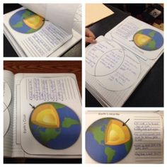 Earth Science for Interactive Notebooks - Earth's Layers