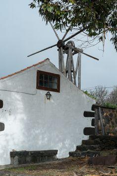 Old Windmill, Puntagorda La Palma Canary Islands, Old Windmills, Paradise