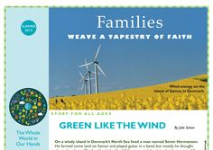 Families Weave a Tapestry of Faith: The Whole World in Our Hands (Climate Justice). (From UUWorld, Summer 2015.)