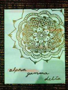 Alpha Gamma Delta Crafts