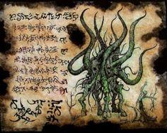 YOG SOTHOTH INCANTATION cthulhu larp necronomicon magick by zarono Hp Lovecraft, Lovecraft Cthulhu, Cthulhu Art, Call Of Cthulhu, Arte Horror, Horror Art, Larp, Necronomicon Lovecraft, Lovecraftian Horror