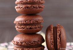 Čokoládové macarons