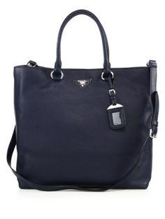 f60660e69fdb Prada - Daino Leather Tote Prada Handbags