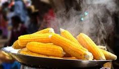 Corn On The Cob Day - Love corn on the cob? If so, Corn On The Cob Day is for you! Share your passion with the world, and consider visiting Plainview, Minneapolis for a variety of parades, festivities and… yes… more corn on the cob than you can eat. Pains Sans Gluten, Mexican Cornbread Casserole, Hot Corn, Nigerian Food, All Nature, Home Food, Sweet Corn, Grilled Meat, Day For Night