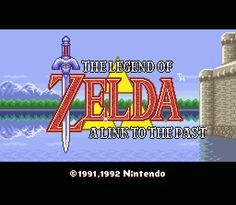 Legend of Ace: Favorite Old School Video Game   The Legend of Zelda: A Link to the Past (SNES) - one of the greatest games ever made in my opinion