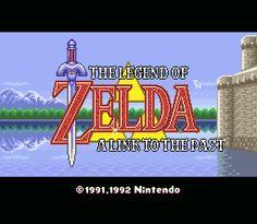 La légende de Zelda : A link to the past - Lyssal.fr