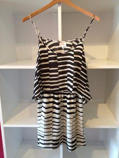 Black and white Parker dress perfect for any summer outing!!!