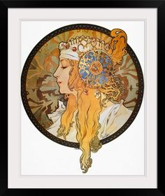 Mucha: Poster, C.1900