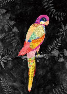 Aiko Fukawa - illustration for magazine cover