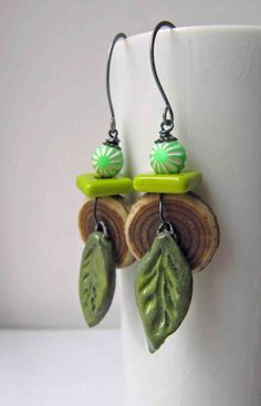 Earrings by Claire Lockwood, Something to do with your hands