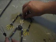 How to build an Aluminum Wire Armature for a stop motion puppet.