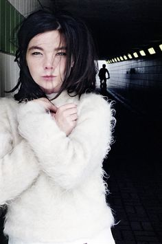 Bjork very early 90's. Enjoy RUSHWORLD boards,  BJORK FOUR DECADES OF OTHER-WORLDLY MUSIC AND, UNPREDICTABLE WOMEN HAUTE COUTURE and ABBEY ROAD ALBUM COVER PARODIES. Follow RUSHWORLD! We're on the hunt for everything you'll love!