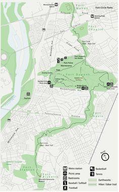 Ft. Dupont Hiker/Biker Trail